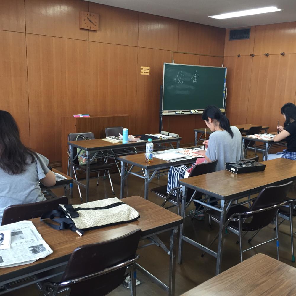 お稽古風景(大人クラス・大船学習センター)