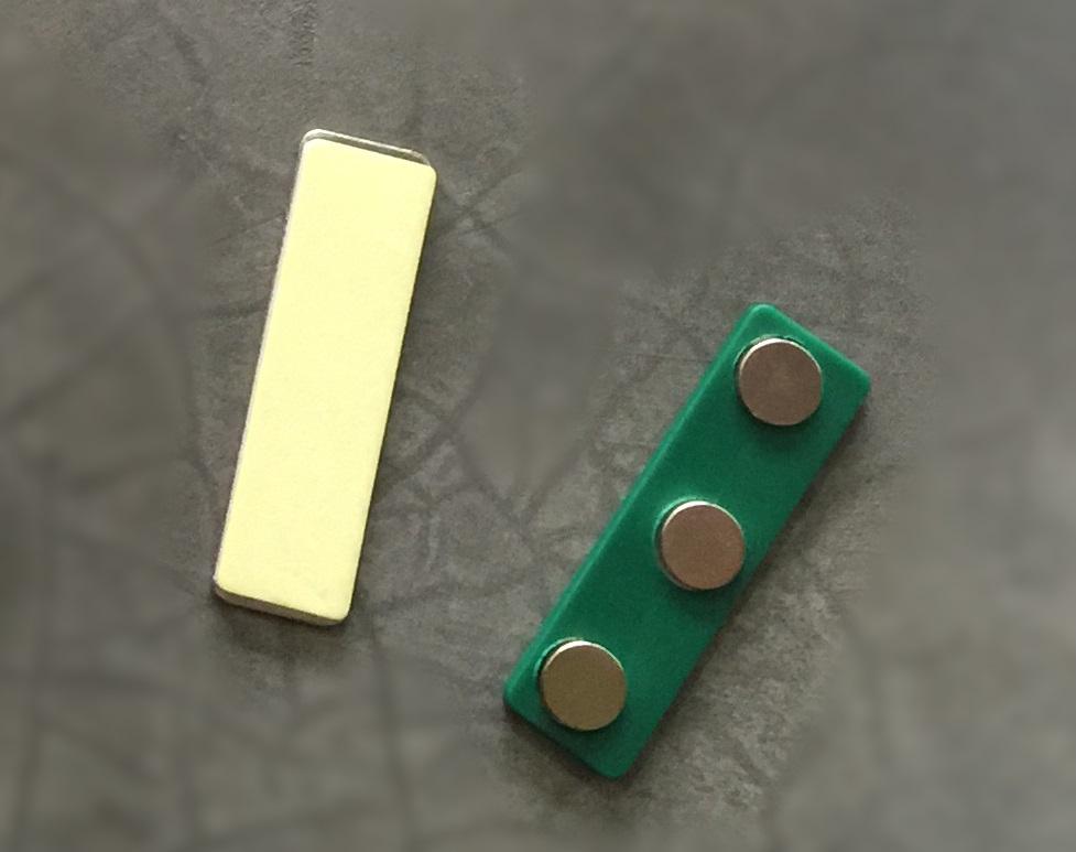broche magnetico 3Imanes