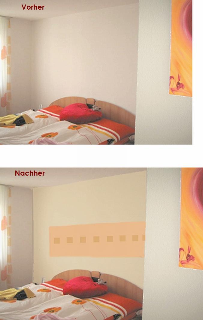 schlafzimmer vorschlag für Rückwand stärken