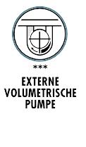 Sanremo Café Racer, externe volumetrische Pumpe