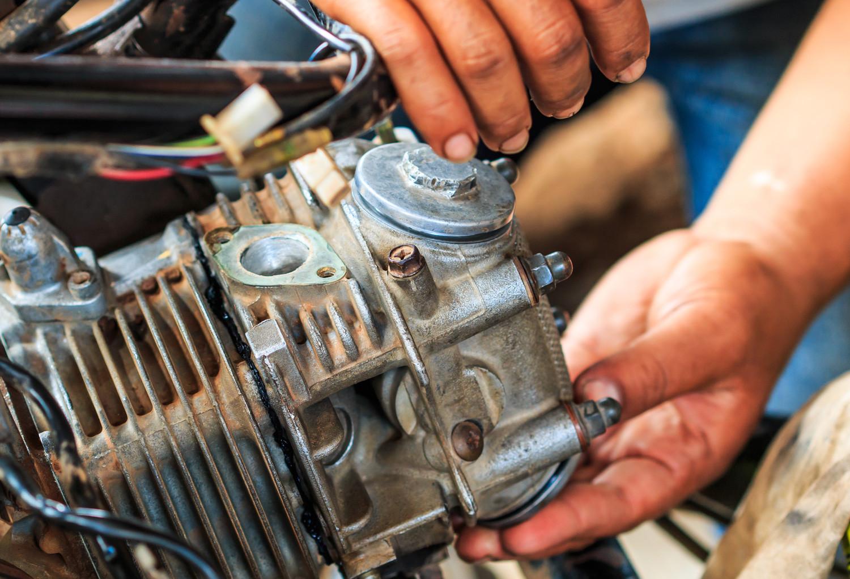 Motorrad-Reparaturen