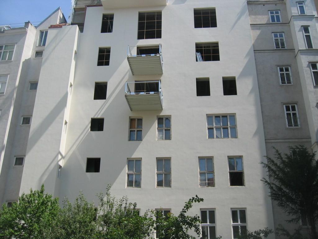 Fassade Hof nach Umbau IV