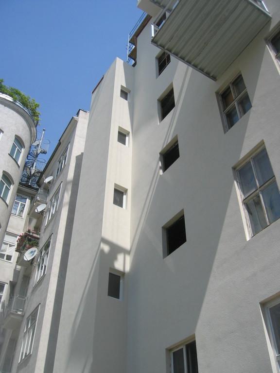 Fassade Hof nach Umbau II
