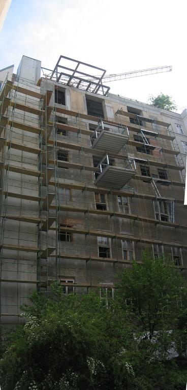 Fassade Hof vor Umbau
