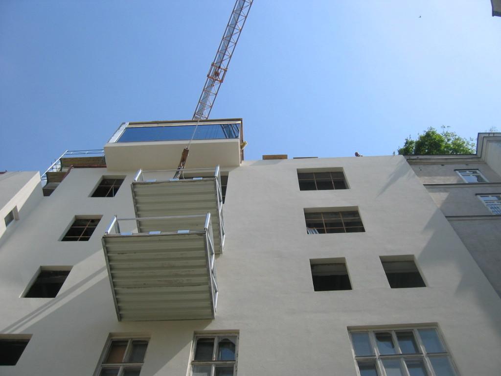 Fassade Hof nach Umbau I