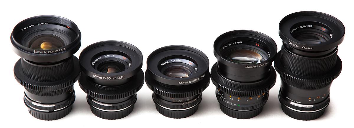 Rent Nikon Nikkor Duclos Cine-Mod Lens set