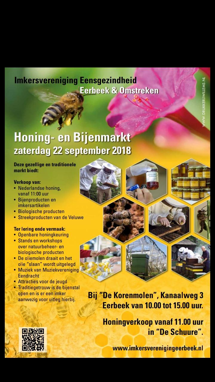 Aanwezig op de Honing en Bijenmarkt. Daar zouden de Stockmar bijenwasblokjes het toch ook goed moeten doen.
