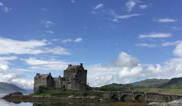 im Highlander sein Eilean Donan Castle (wurde hier auch verfilmt)