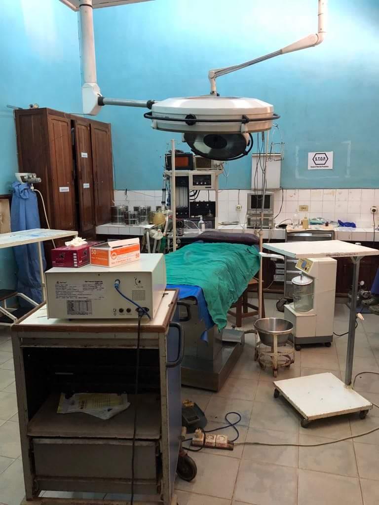 Une salle d'opération