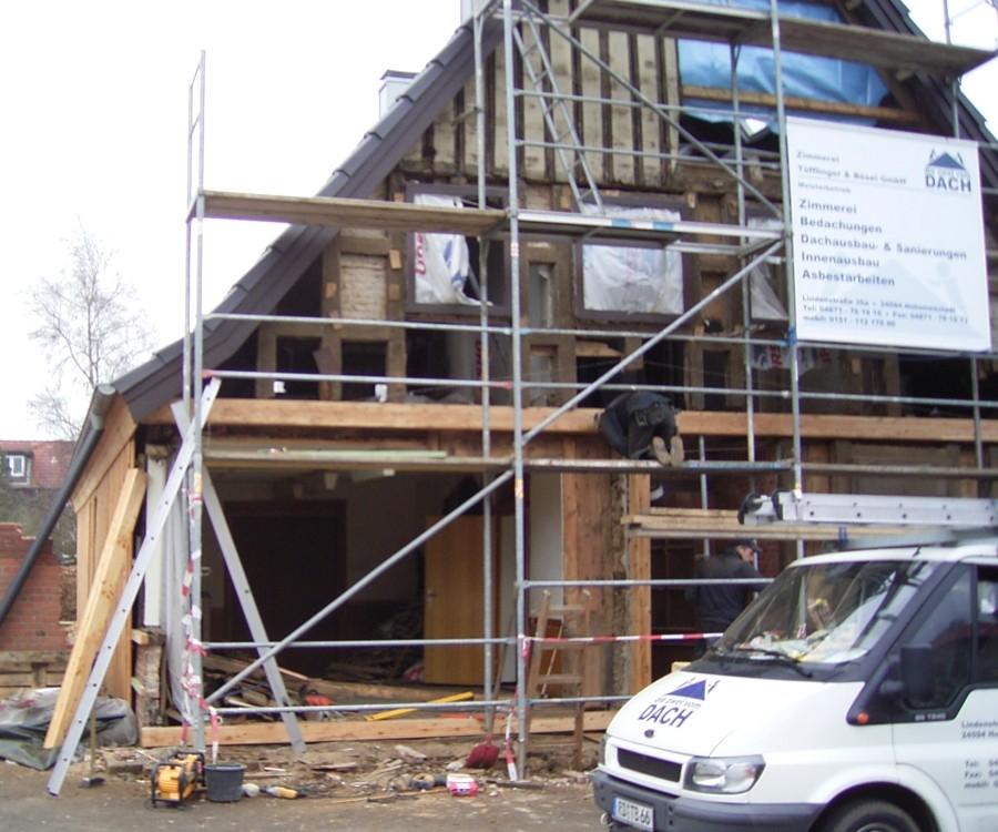 Fachwerkhaus-Restauration