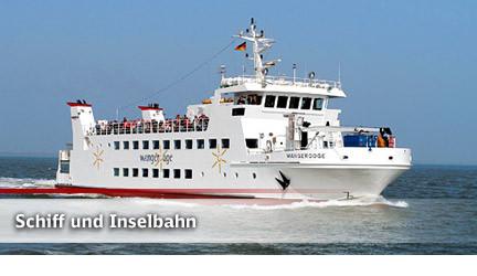 Mit dem Schiff nach Wangerooge
