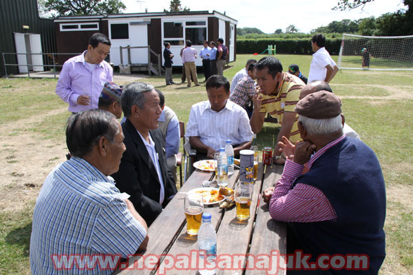 Sonpal UK's BBQ- 18.07.2010