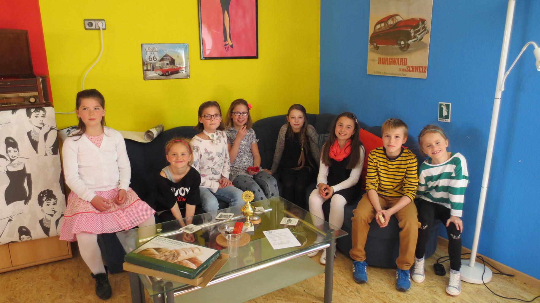 Kinder der Tanz-AG aus der Katholischen Grundschule