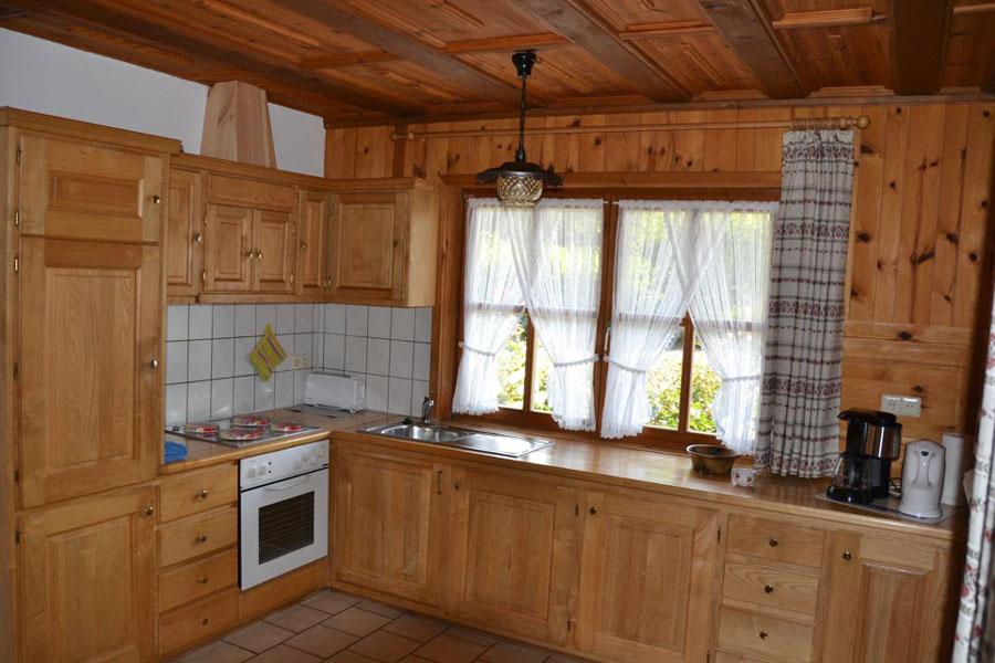 Küche in Ferienwohnung zwei