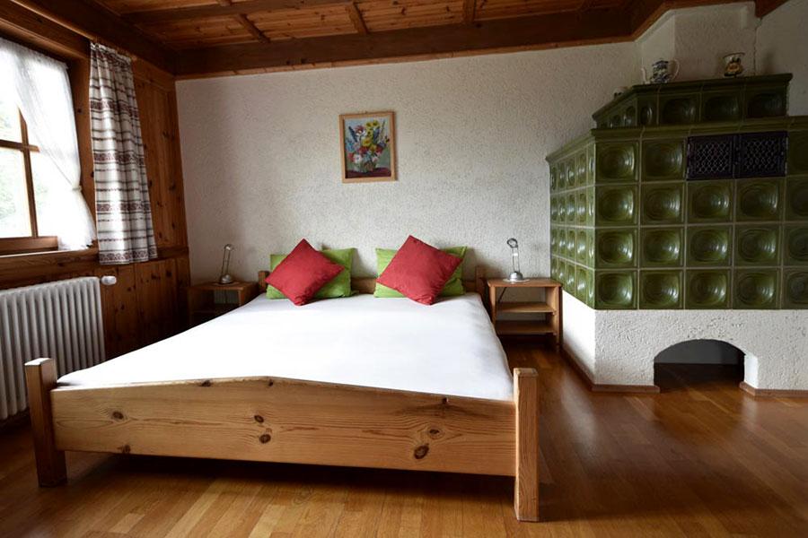Zweites Schlafzimmer in Ferienwohnung zwei