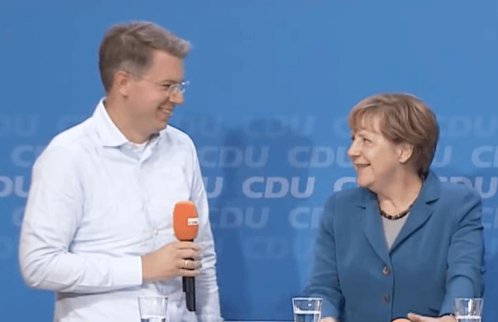 #cnight 2015: Talk mit Bundeskanzlerin Angela Merkel