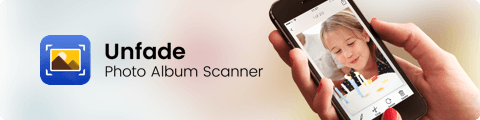 unfade photo album scanner