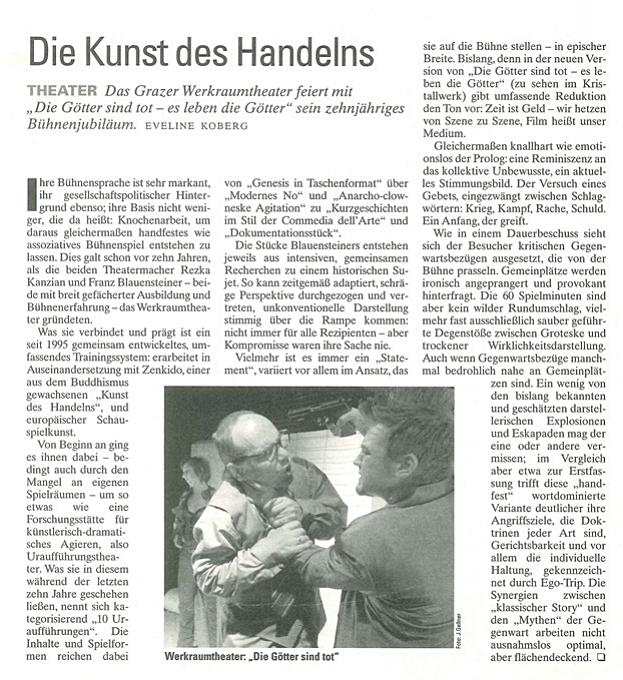 Falter Graz  Kultur Ausgabe 11