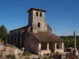 église de Saint Aubin de Branne