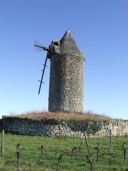 Moulin de Lescurs Saint Aubin de Branne