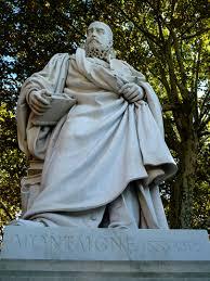 statue de Montaigne