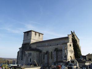 église de Fonsac