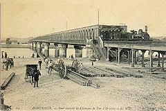 La pont de chemin de fer Eiffel