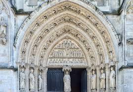 Porte  de la cathédrale Saint-André