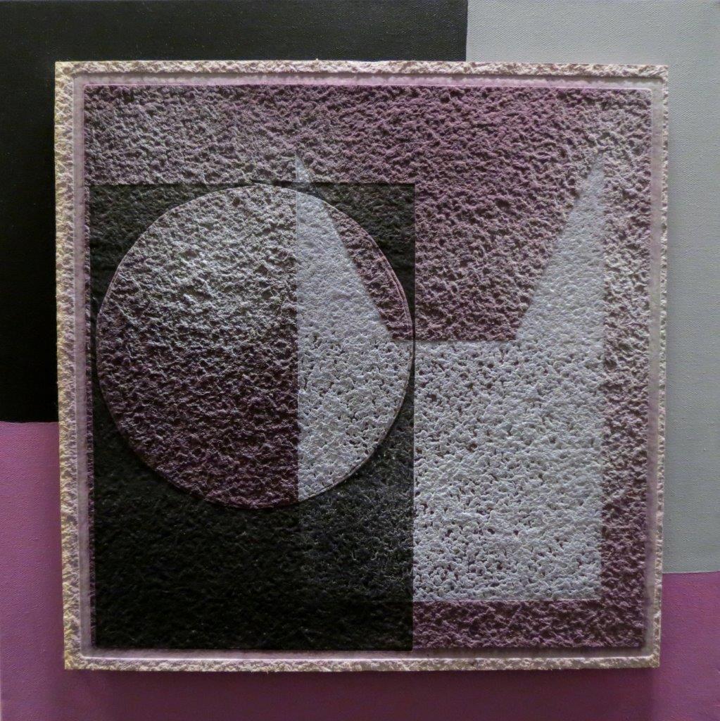 Dom, Druck auf Weinfilterplatte, 50x50cm, 2013