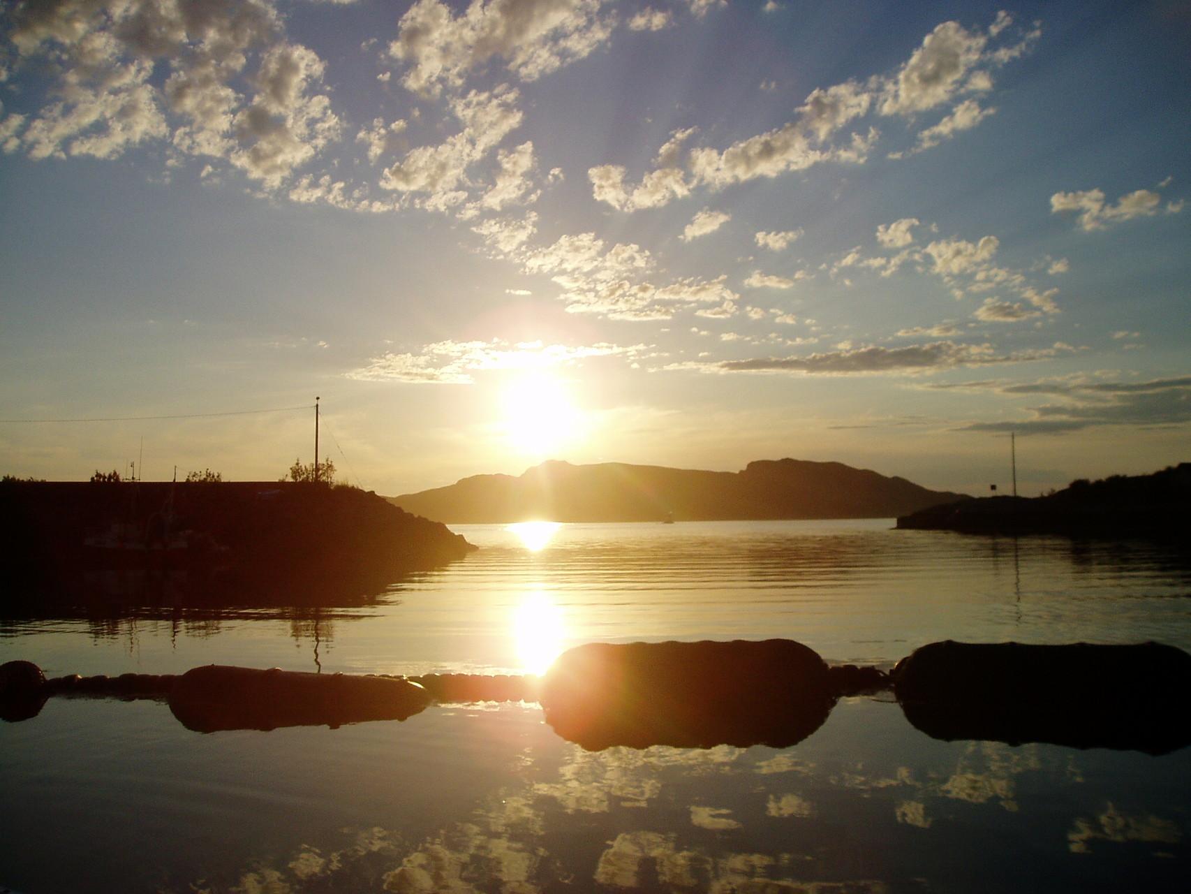 Norwegen zur Sommersonnenwende