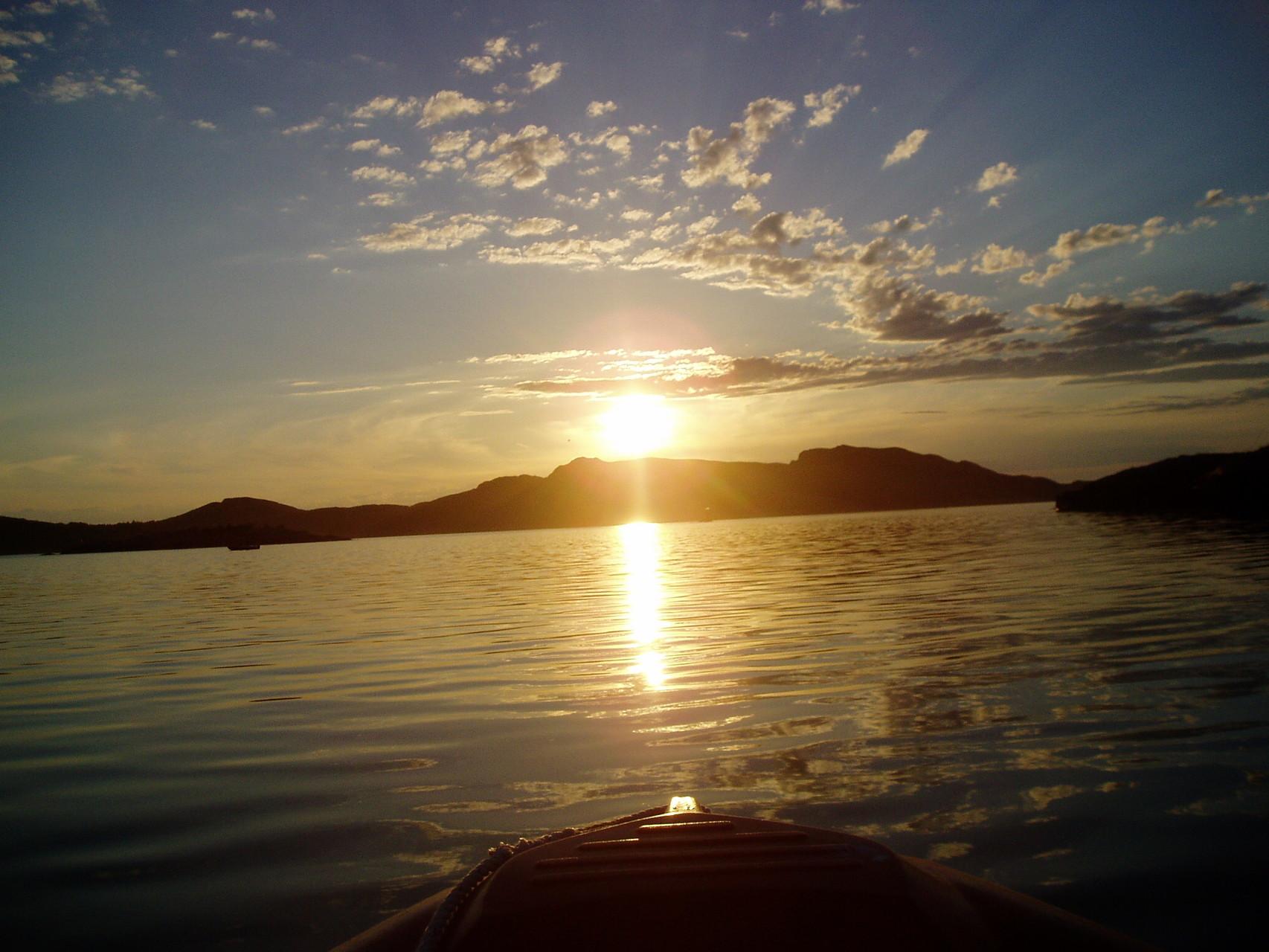 Sonne im Meer