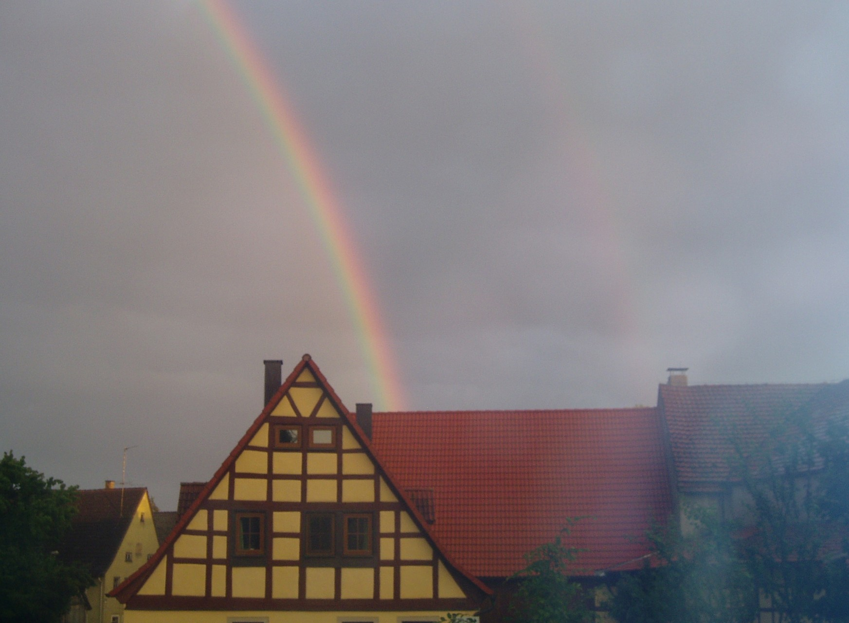 Regenbögen über Berchti