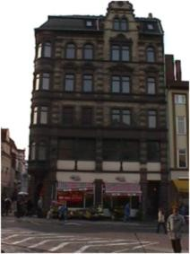 Sanierung Karslplatz 1 in Eisenach vor der Sanierung