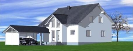 Planung Einfamilienhaus in Möhra