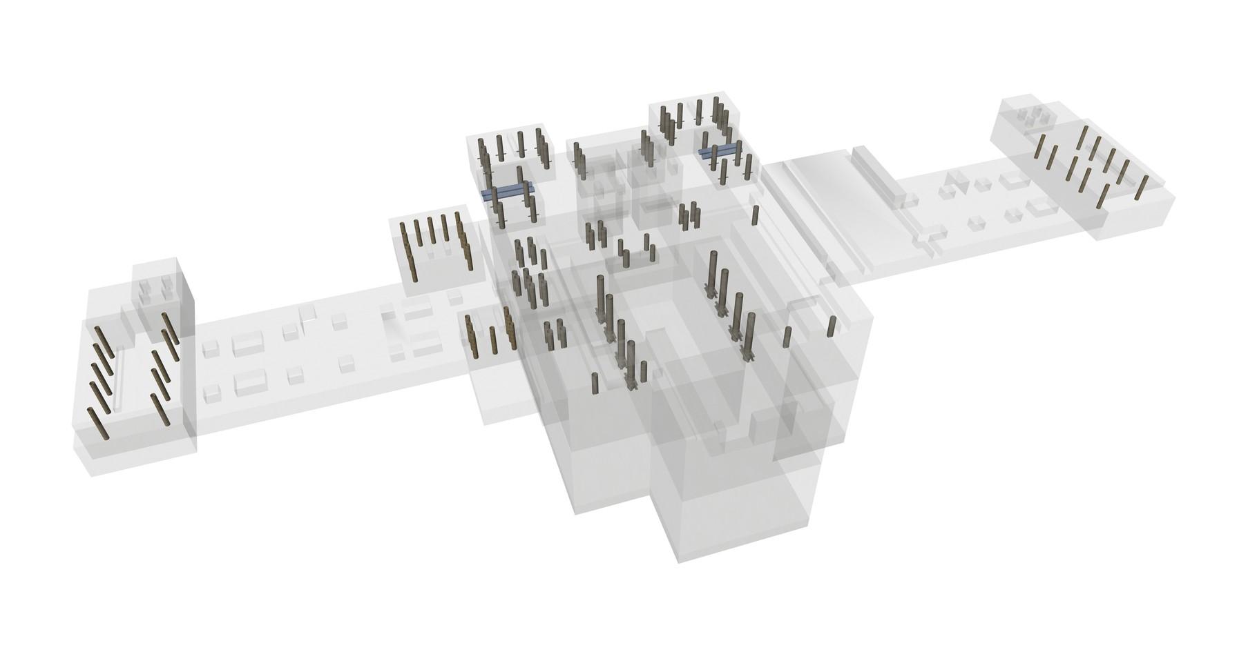 Visualisierung der Einbauteile