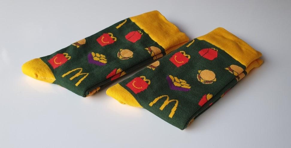 Custom Made Sokken McDonalds