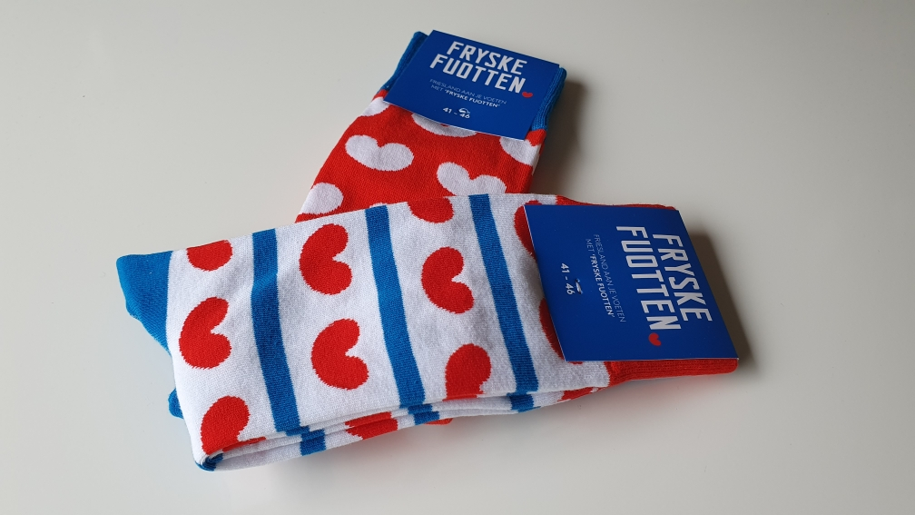 Sokken met pompeblede Friesland