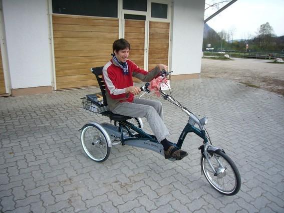 Easy Rider Dreirad: Sicher und komfortabel unterwegs