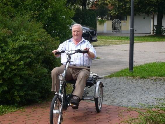 Ausflüge unternehmen mit einem Dreirad