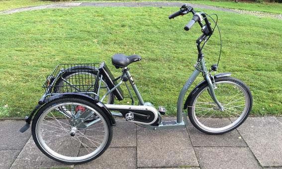 Pfau Tec  Torino mit Bafang Mittelmotor: Erhältlich in unseren Dreirad Zentren