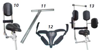 Sitzhilfen für Dreiräder - Dreiräder für Erwachsene