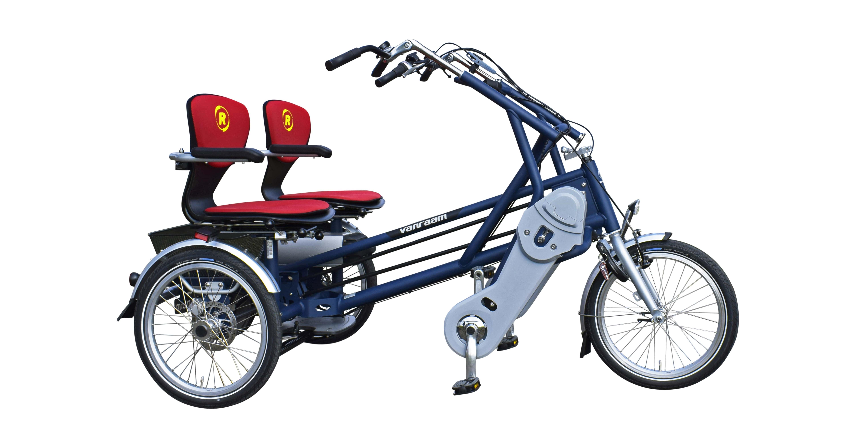 Van Raam Fun2Go Dreirad für Erwachsene Spezial-Dreirad 2017