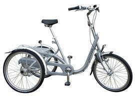 Van Raam Maxi Premium Dreirad für Erwachsene Shopping-Dreirad 2017
