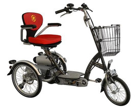 Van Raam Easy Go Scooter Dreirad  Dreirad für Erwachsene Spezial-Dreirad 2017