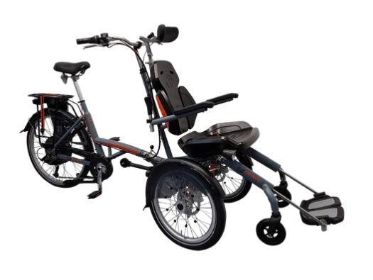 Van Raam O-Pair 2 Dreirad für Erwachsene Spezial-Dreirad Rollstuhl-Dreirad 2017