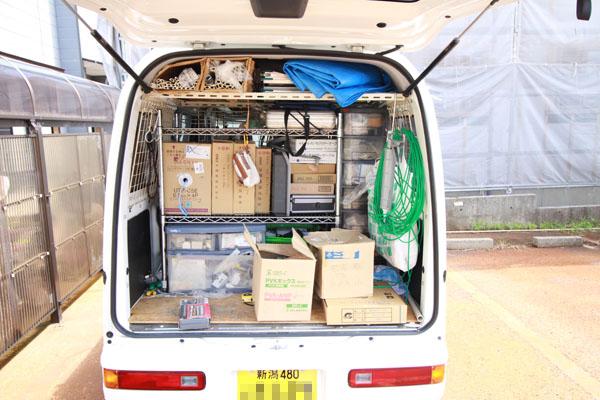専用車両|新潟県の通信機器工事会社