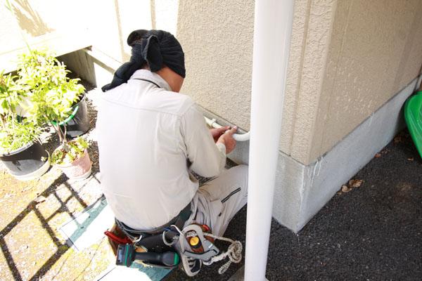 集合住宅のLAN配線工事