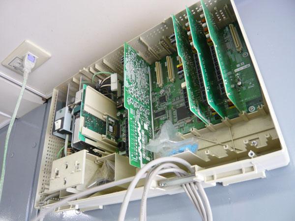 事務所の通信機器取付工事|新潟