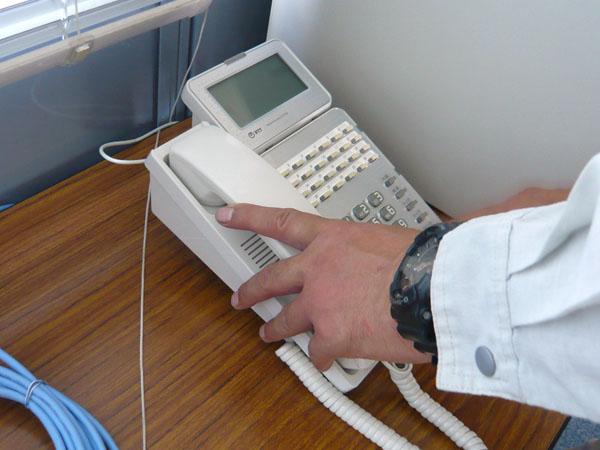 求人募集(工事技術者・通信工)してる新潟市の電気通信設備会社の作業写真3