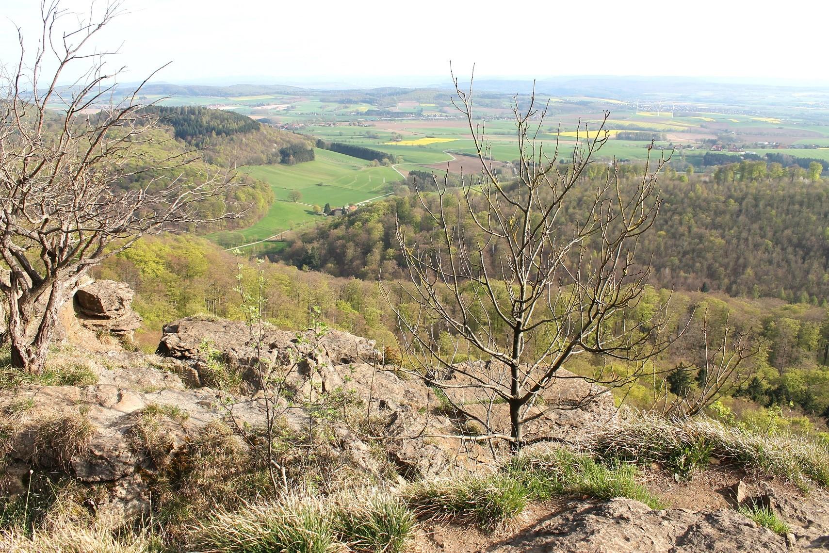 Hohenstein, Blick ins Tal